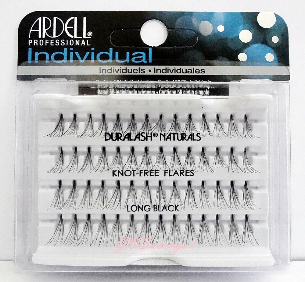 Ardell Duralash NATURALS Flare LONG Individual Eyelashes Lashes Flair Lash Black EBay
