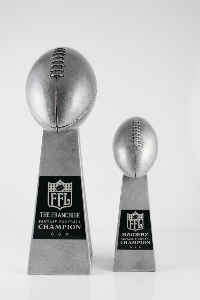 FANTASY FOOTBALL TROPHY SET LOMBARDI TROPHIES FANTASY
