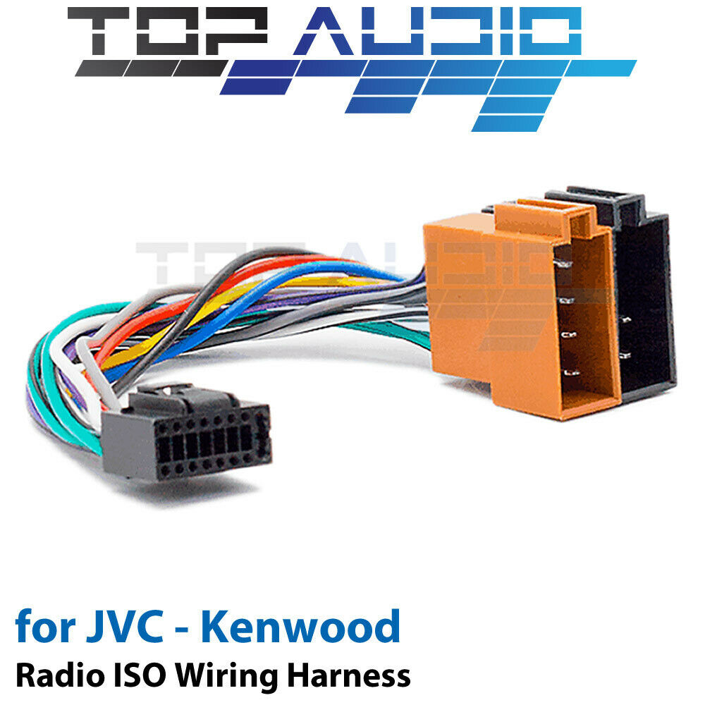 Jvc Kd R862bt Iso Wiring Harness Cable Adaptor Connector