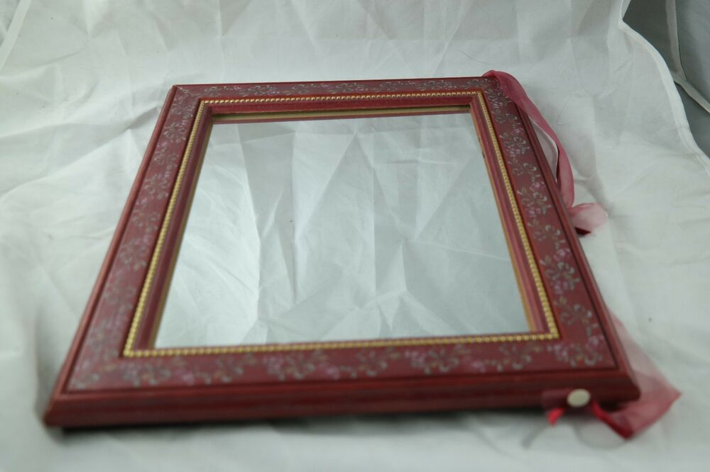 Vintage Picture Frame Mirror 8X10 Inches Reclaimed Wood