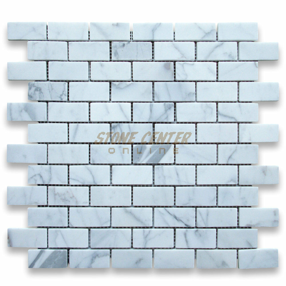 Italian Brick Marble Subway Tile Backsplash Kitchen Calacatta X 4 2 Gold Calcutta