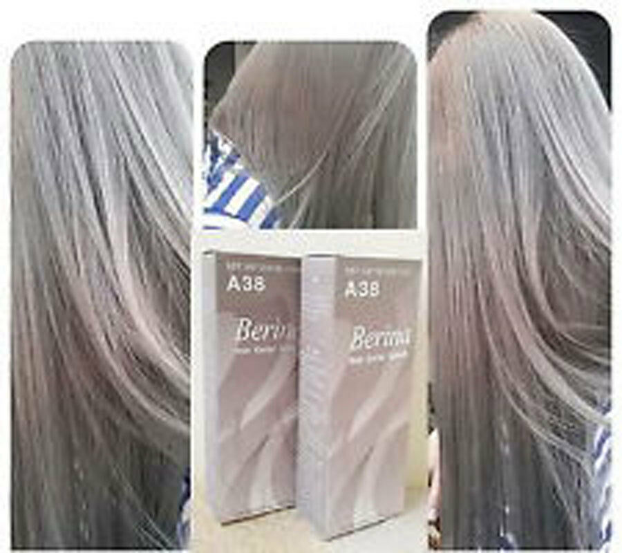 Berina A38 Light Ash Blonde Color A38 Permanent Hair Dye