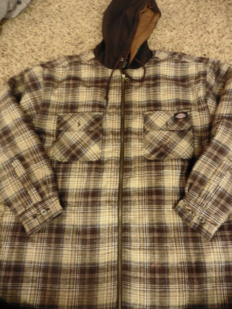 Lands End Flannel Jacket