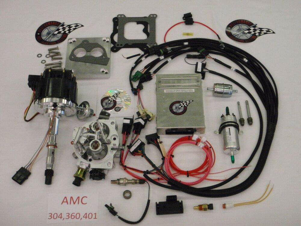 Jeep Fuel Injection System Complete TBI-For Stock 304, 360