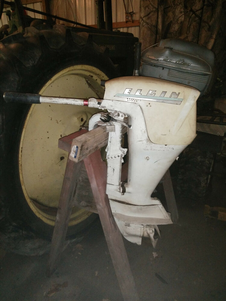 Motor Elgin 75 Hp Boat