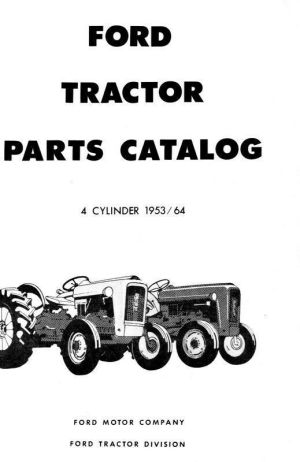 Ford Tractor Parts Manual NAA 600 601 800 801 2120 4120 | eBay