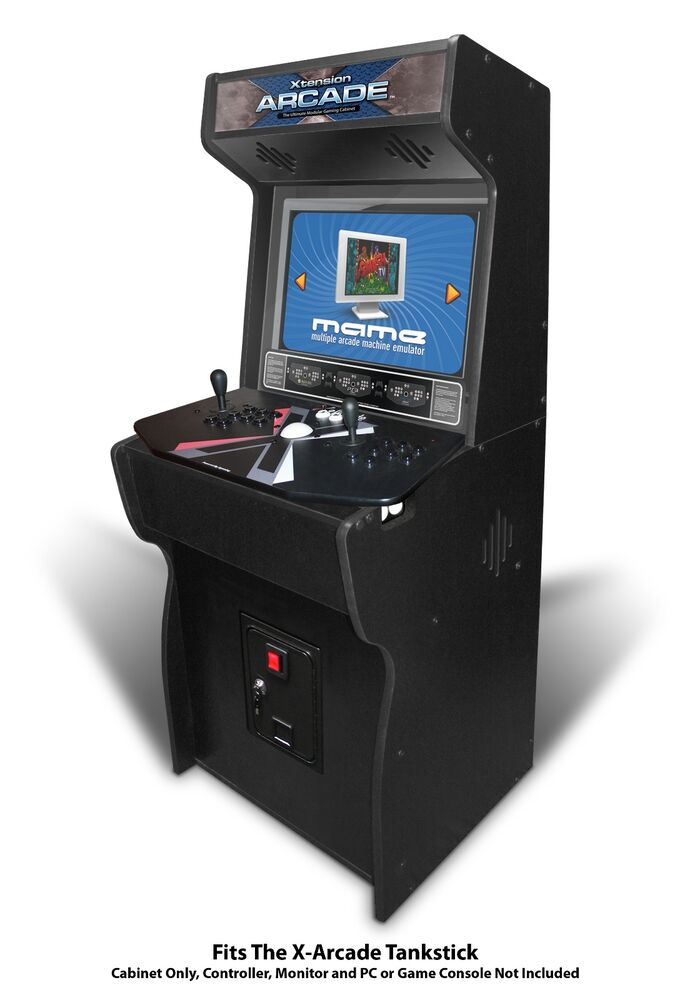 27 Xtension Arcade Cabinet Fits X Tankstick With Coin Door Hole