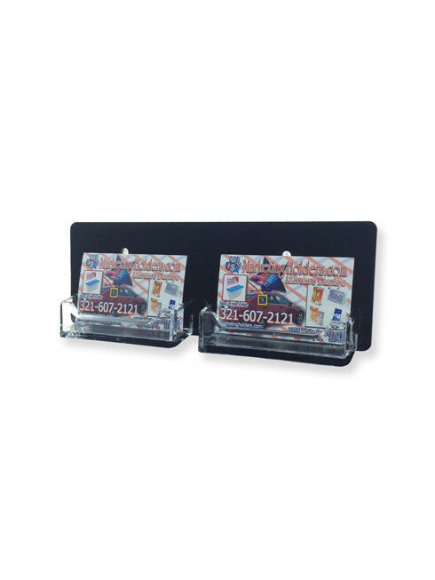 Horizontal Wall Mount Business Card Holder