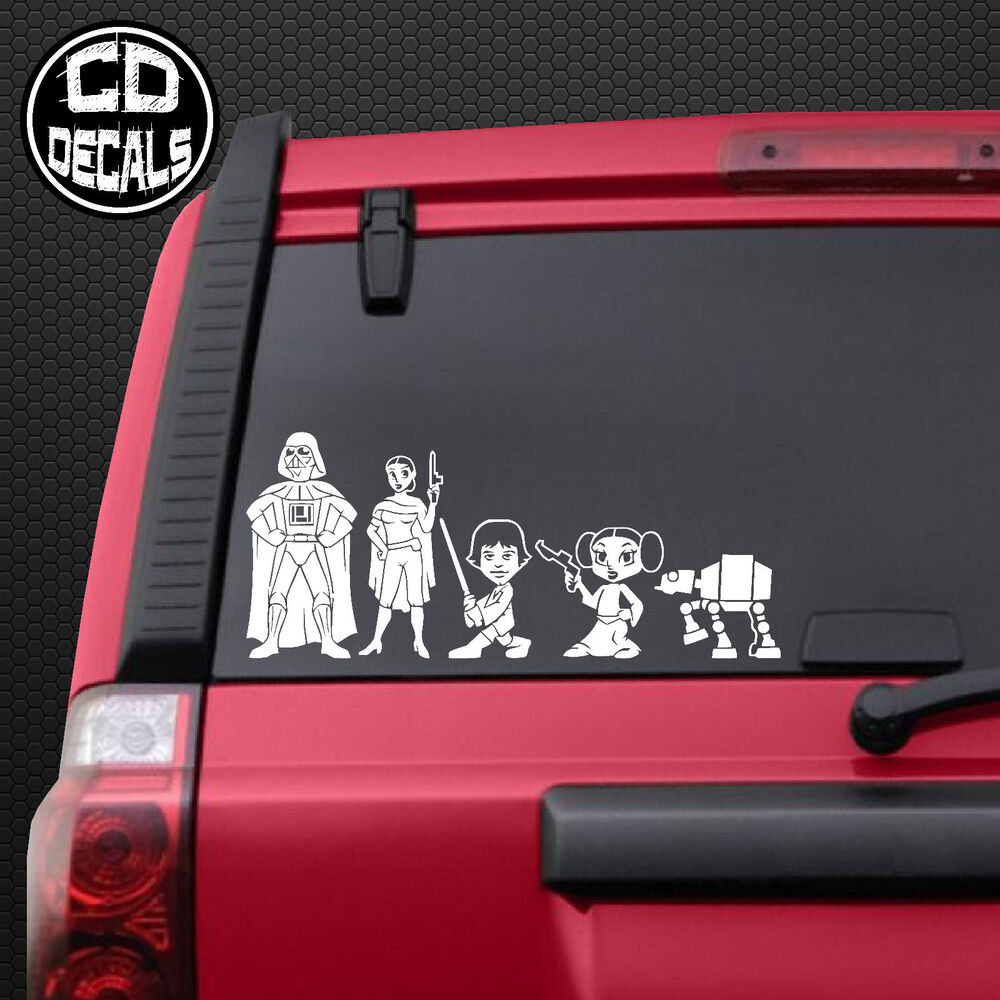 Car Window Family Decals