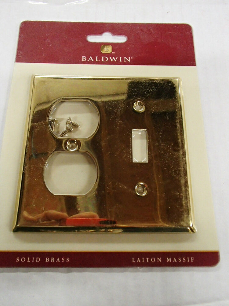 Baldwin Switch Plate Covers