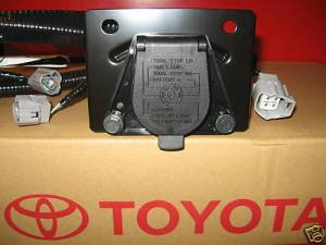 20052015 TACOMA TRAILER TOW HITCH WIRE HARNESS 7PIN 8216904010 GENUINE TOYOTA | eBay