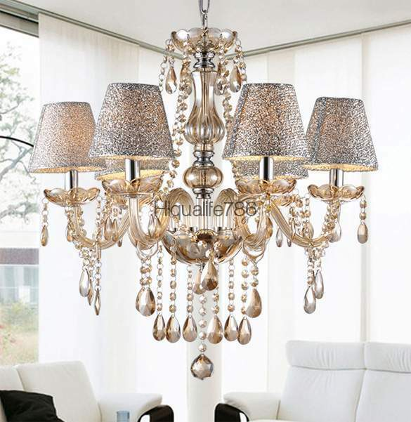Large Drum Pendant Light Fixture