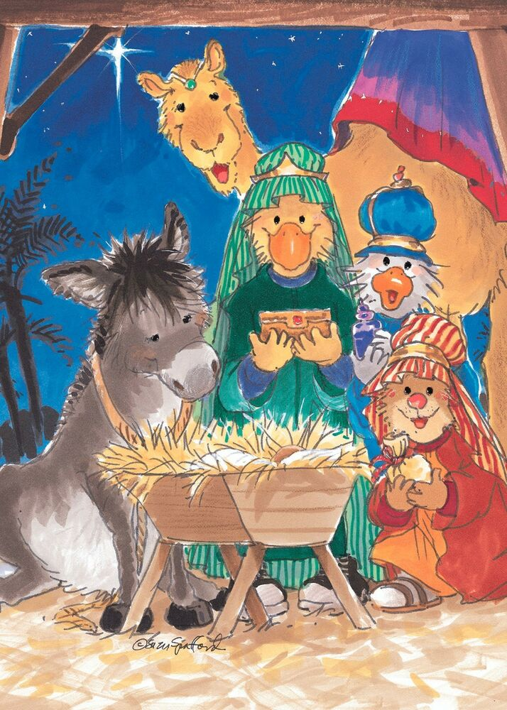 Suzys Zoo Christmas Greeting Card 4 Pack 10908 EBay