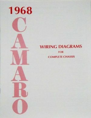 68 1968 Chevrolet Camaro Electrical Wiring Diagram Manual