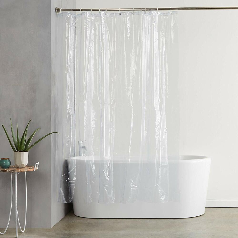 Deluxe Quality Shower Curtain Liner Clear 70W X 71L Mildew Resistant USA Ship EBay