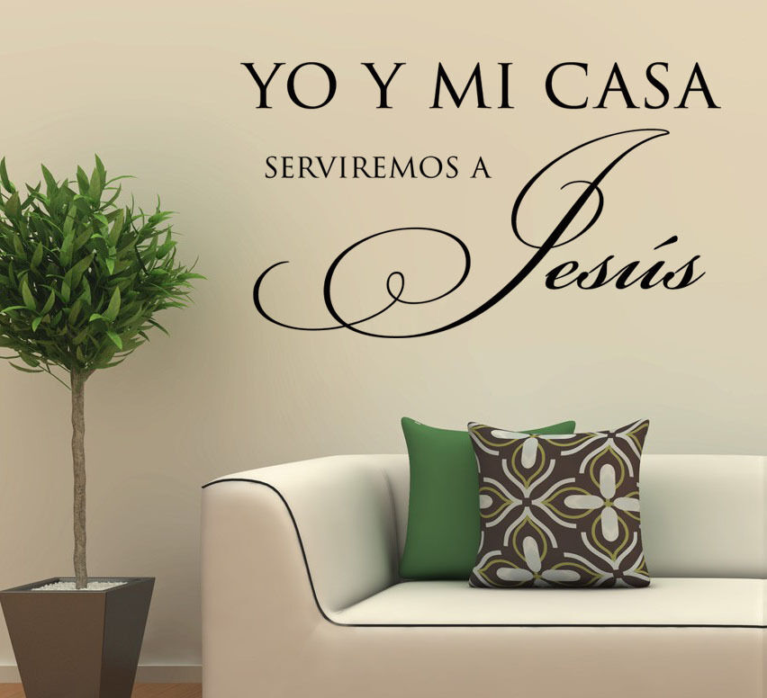 Christian Wall Decals In Spanish