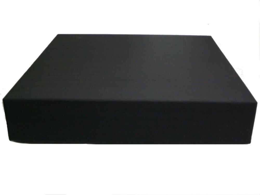 12X12 Black Album BoxGift Box For Wedding Album Set Of