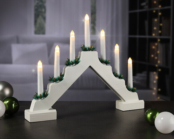 Christmas Lights Candle