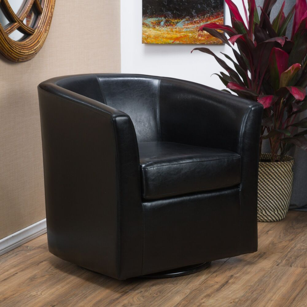 Swivel Club Chairs Living Room