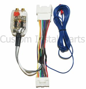 Mitsubishi Add Amplifier Amp Interface Adapter Wiring Wire Harness Connector   eBay