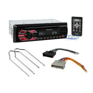 Pioneer Car Stereo Wire Harness Radio Remover for Ford