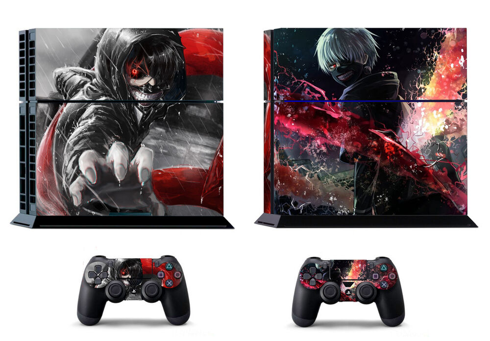 Tokyo Ghoul Ken 397 Skin Sticker Sony PS4 PlayStation 4 And 2 Controller Skins EBay