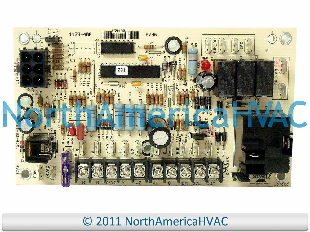 Oem York Luxaire Coleman Furnace Control Board Panel