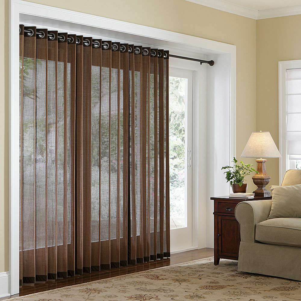 Naples Bamboo Grommet Panels Three Lengths Four Color