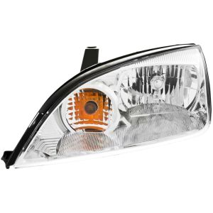 Headlight For 20052007 Ford Focus Driver Side w bulb | eBay
