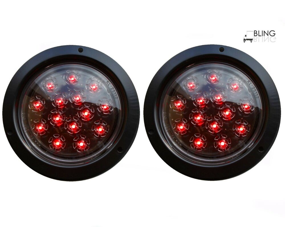 Round Led Trailer Lights