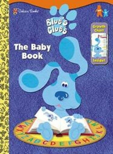 blue s clues coloring book with growth chart ebay