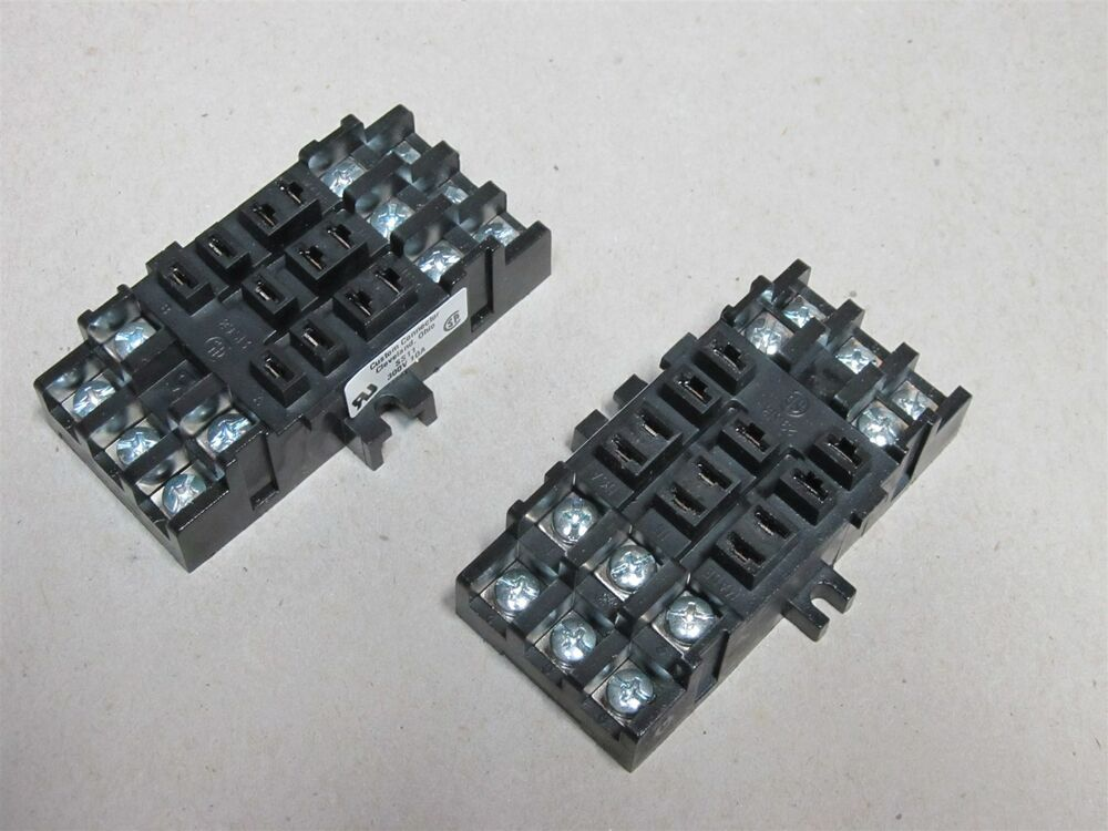 2 Pack Custom Connector SS11 11 Pin 3 PDT Square Base