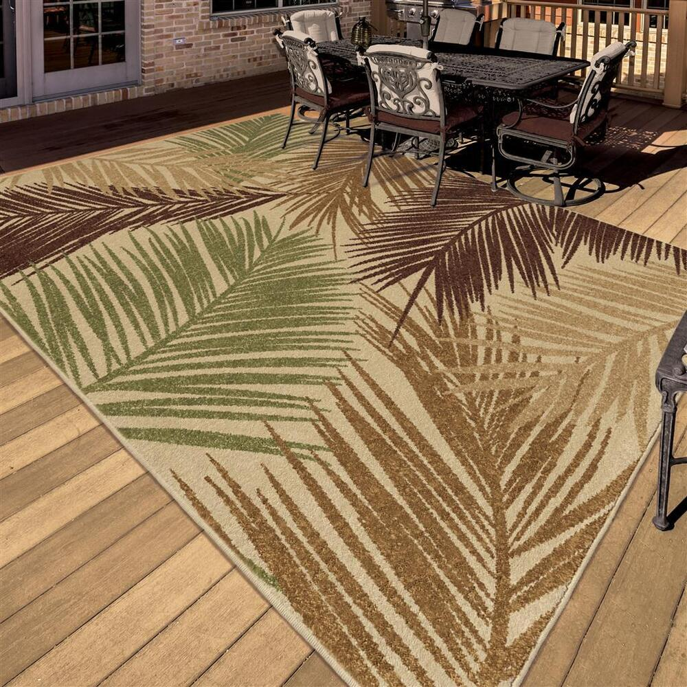 Tropical Themed Area Rugs