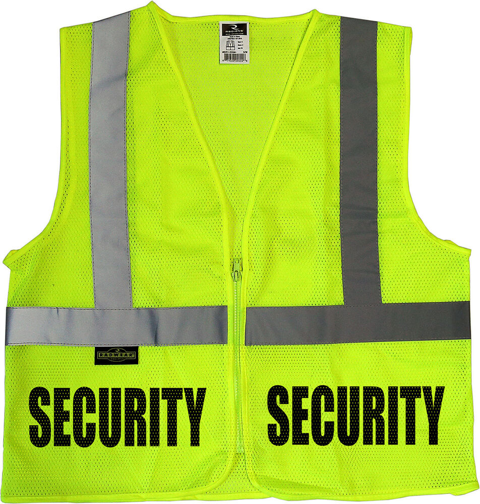 Event Security Vests