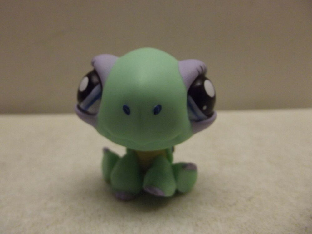 LITTLEST PET SHOP LPS TOYS R US EXCLUSIVE TURTLE 1388 RARE HTF EBay