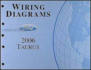 20062007 Ford Taurus Wiring Diagrams Manual Original OEM Electrical Schematics | eBay