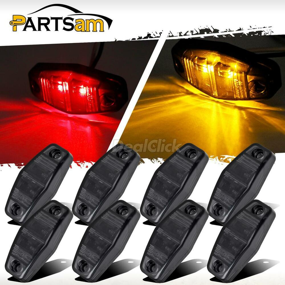 Trailer Side Marker Lights