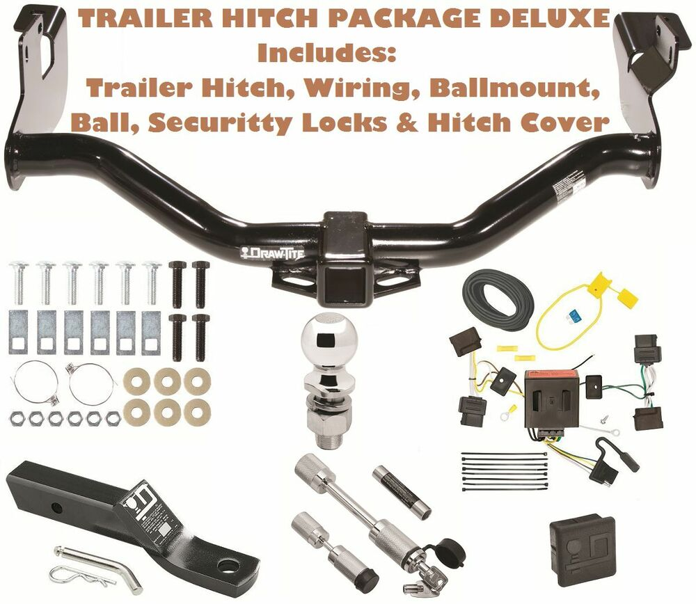 2013 Ford Edge Trailer Harness Hitch Wiring