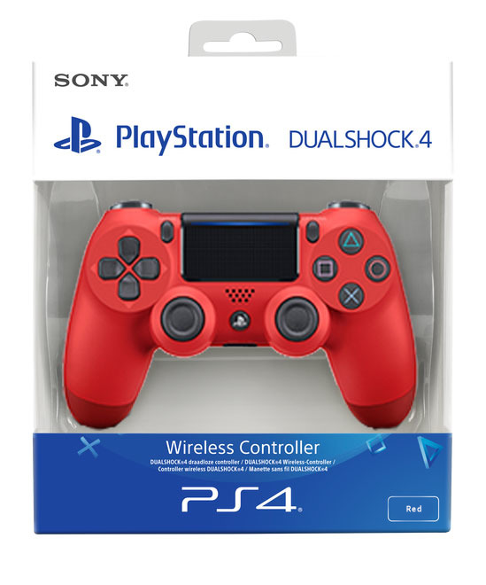 PS4 DualShock 4 Controller Magma Red V2 BRAND NEW SEALED