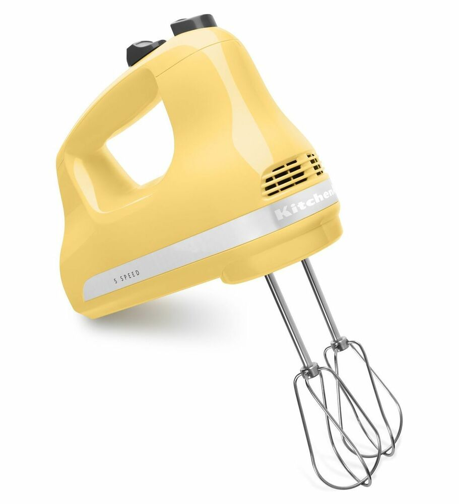 Image Result For Kitchenaid Hand Mixer Yellow