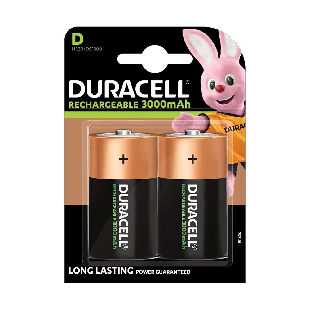 D Rechargeable Duracell Cell