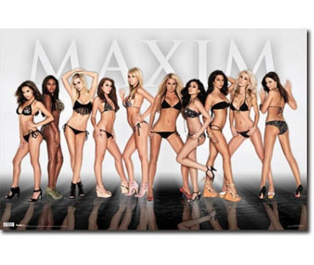 Details About Hot Sexy Babes Door Poster Print 62x21