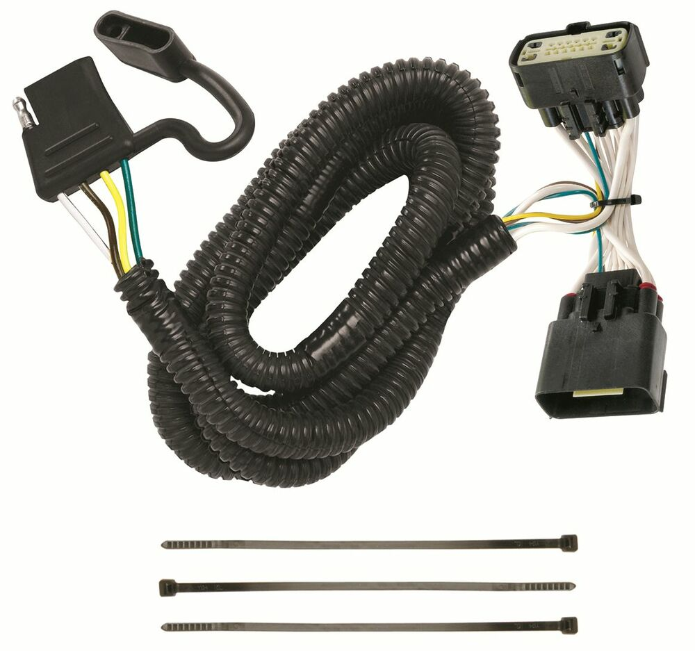 Trailer Wiring Harness Kit For 11 19 Ford Explorer All