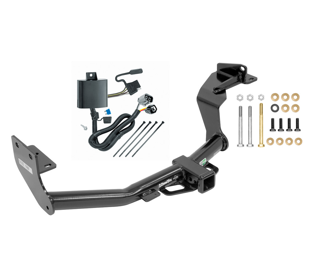 COMPLETE TRAILER HITCH PACKAGE W/ WIRING KIT BALL & MOUNT