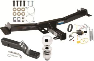 20072014 TOYOTA FJ CRUISER COMPLETE TRAILER HITCH PACKAGE