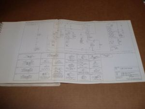 1982 Ford F100 F150 F250 pickup wiring diagram schematic