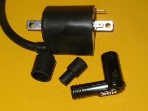 NEW YAMAHA 8498 XV700 XV750 XV1000 XV1100 VIRAGO REAR IGNITION COIL WPLUG CAP | eBay