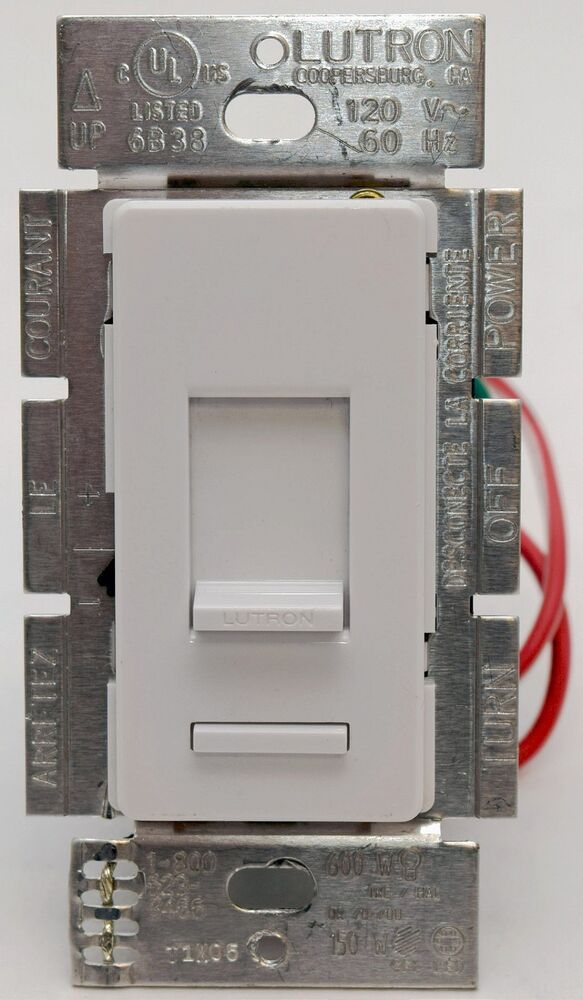Lutron Lumea Lg 603pgh Wh Wall Eco Dimmer Light Switch