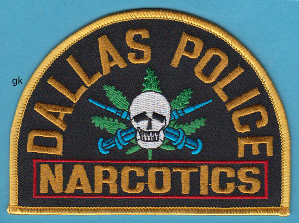 Narcotics Patches Skull