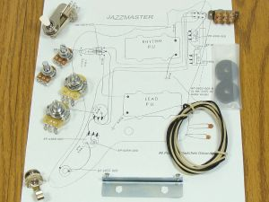 NEW Jazzmaster Pots Switch & Wiring Kit for Fender Guitar